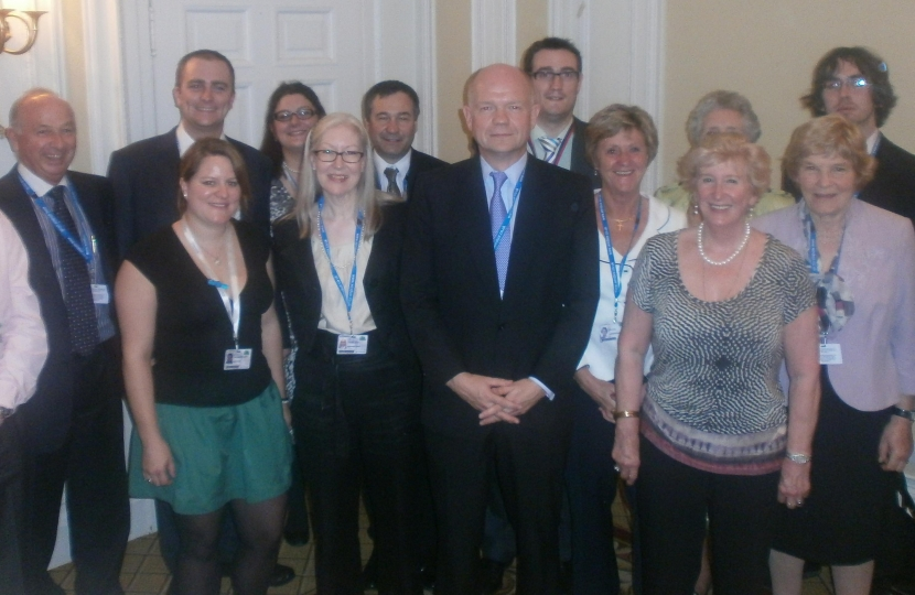 William Hague MP & Richmond Members